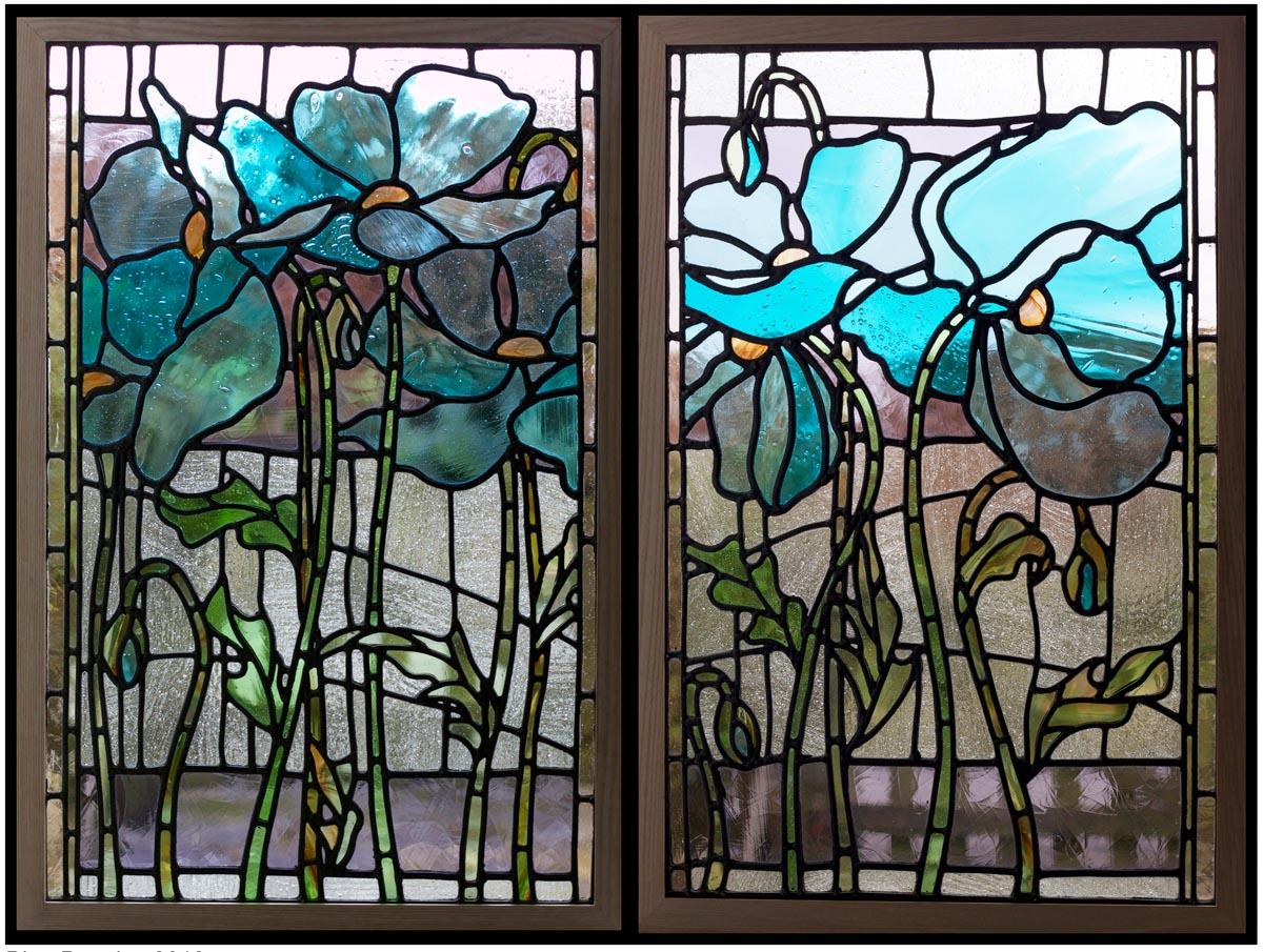 Blue Poppies 1